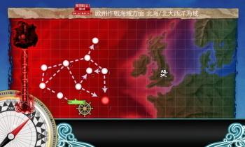 艦これ E5海域 戦力1マップ