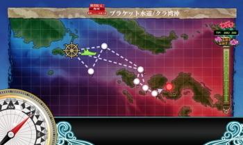 艦これ E1海域 輸送マップ