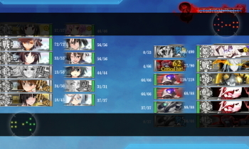 艦これ E3戦力1 ラスダン1